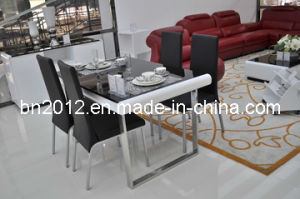 Modern Glass Dining Table and Dining Chair (CT-149) pictures & photos