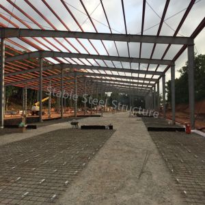 Full Set High Quality Steel Structure Workshop Building in Colombia pictures & photos