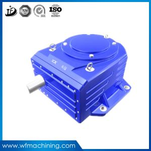 OEM Ductile Iron Investment Casting Mini Transmission Reducer Casting Gearbox pictures & photos