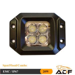 20W LED Work Light LED Car Light for Jeep 4X4 ATV SUV Trucks Vehicle