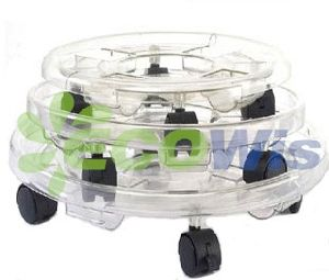 China Manufacturer Rolling Planting Caddy Transparent pictures & photos