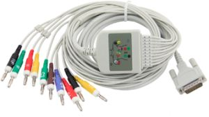 ECG Cable Compatible with Schiller pictures & photos