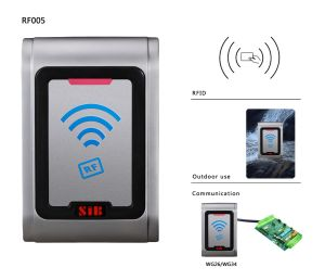 Metal Waterproof Prox RFID Card Reader (RF005E) pictures & photos