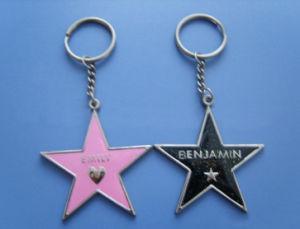 Fashion Zinc Alloy Gift Key Chain with Enamel (GK776)