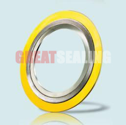 Spiral Wound Gasket with Inner and Outer Rings, Cgi, Swg