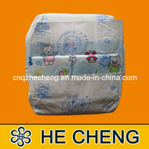 Disposable PE Film Baby Diapers Wholesale pictures & photos
