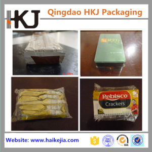 Automatic Upper Film Pillow Packing Machine for Biscuit, Cookies pictures & photos
