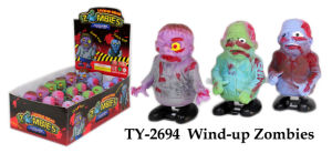 Funny Halloween Wind up Zombies Toy pictures & photos