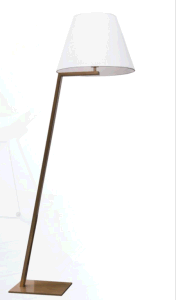 2015 New Product Gold Body Standing Floor Lighting pictures & photos