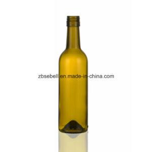 375ml, 187ml Bvs Top Bordeaux Glass Wine Bottle pictures & photos