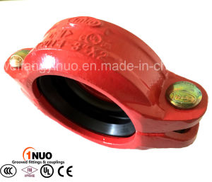 Ductile Iron 300psi Grooved Pipe Fittings Flexible Coupling (drinking water, fire fighting) pictures & photos