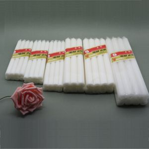 China Supplier Paraffin Wax Household Illumination White Candles pictures & photos