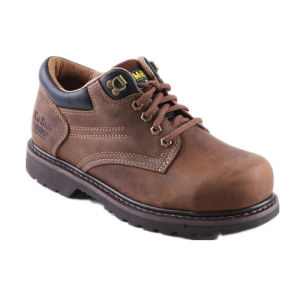 Men Goodyear Welted Safety Work Shoes