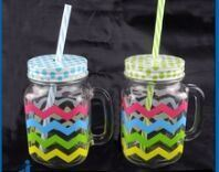450ml Various Colorful Mason Jar Water Container pictures & photos