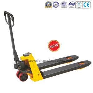 2t Scale Pallet Truck pictures & photos