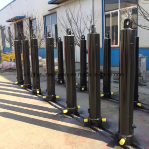 4 Stage Long Stroke Hydraulic Cylinder for Dump Truck Fe/FC/Fee Hyva Hydraulic Cylinder pictures & photos