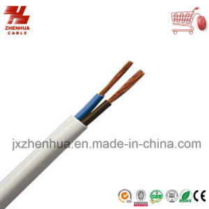 H05VV-F Electric Power Cable 2X1.0mm2 2X1.5mm2 pictures & photos