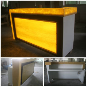 Modern Bar Furniture with LED Fansy modern Bar Counter Design for Sale pictures & photos