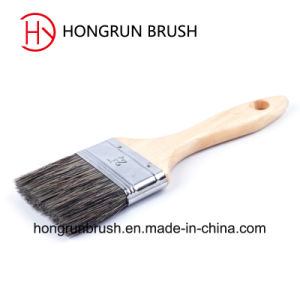 Wooden Handle Bristle Paint Brush (HYW034) pictures & photos