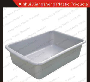 Plastic Tote Box for Plastic Utility Cart Factory Direct Sale 7′