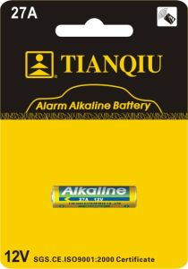 Tianqiu 27A Alkaline Button Cell / Coin Cells