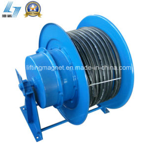Horizontal Coiling Cable Reel for Electric Cable pictures & photos