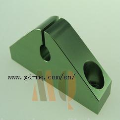 Precision Green Color Aluminum Anodized CNC Machining (MQ2116) pictures & photos