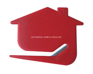 Custom Cheap Plastic Letter Opener with Steel Brade pictures & photos
