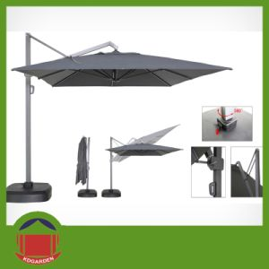 Outdoor Umbrella 300cm Side Pole Garden Umbrella pictures & photos
