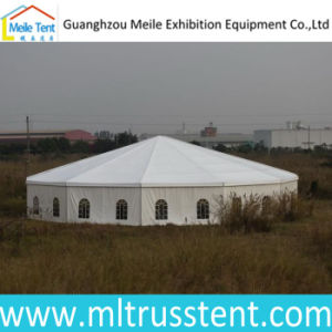 Dia. 15m Wedding Party Decagonal Pagoda Tent for Outoor Events pictures & photos