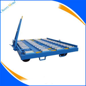 Aviation Ground Support Equippment Airport Pallet Container Dolly pictures & photos
