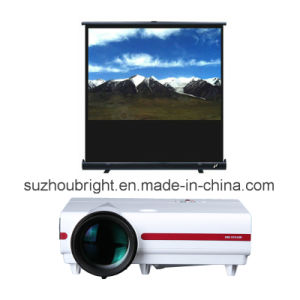 Portable Floor Standing Projector Screens Floor Stand Screen Projection