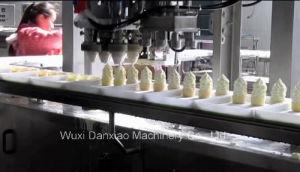 Cone Ice Cream Filling Extrisone Machine pictures & photos