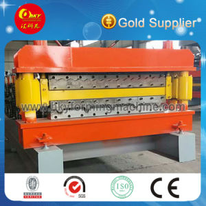 Double Layer Glazed Tile Roofing Sheet Roll Forming Machine pictures & photos