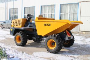 4X4 3ton Hydraulic Site Dumper pictures & photos
