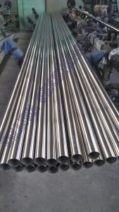 Round Welded Stainless Steel Pipe pictures & photos