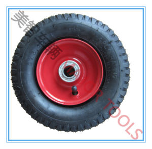 Symmetrical Block Pattern Pneumatic Rubber Wheel 3.50-4 for Farm Equipment pictures & photos