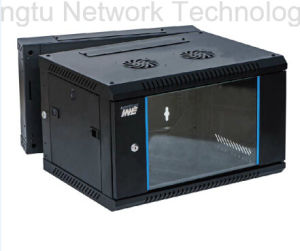 Double Section Network Cabinet for Wall Mounted pictures & photos