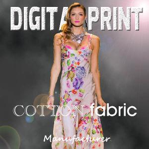 Cotton Fabric Print (X1012) pictures & photos