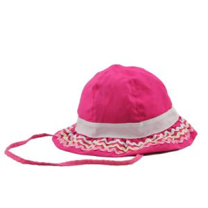 Wholesale Custom Made Kids Cotton Bucket Hats pictures & photos
