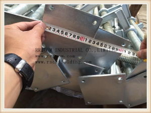 Galvanized Screw Jack with Base Plate pictures & photos