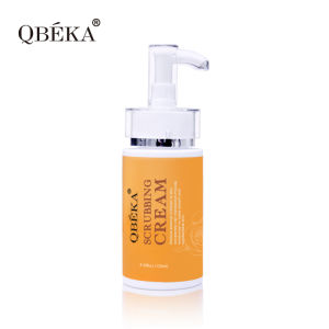 Vitamin B Extraction Natural Bio QBEKA Scrubbing Cream SPA Body Scrub Cream Facial Scrub Cream Cosmetics pictures & photos