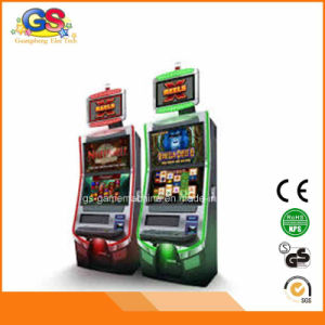 Games Slot Machine Games Custom Arcade Game Console Cabinet pictures & photos