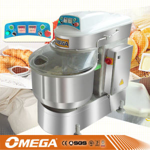 Double Speed 50kg Dough Spiral Mixer Machine pictures & photos