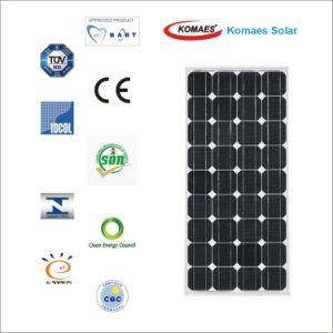 90W Solar System PV Panel Monocrystalline Solar Panel with TUV IEC Mcs CE Cec Inmetro Idcol Soncap Certificate