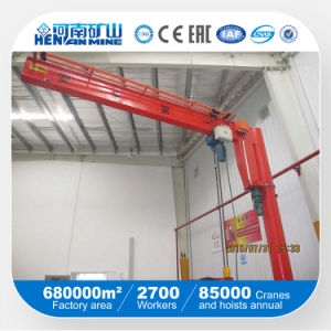 360 Angle Rotate Stand Column Jib Crane pictures & photos