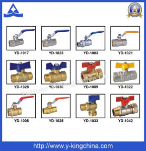 Chromed Brass Angle Valve with Plastic Handle (YD-5017) pictures & photos