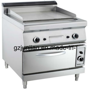 Electric Griddle with Oven (2/3 Flat & 1/3 Grooved) pictures & photos