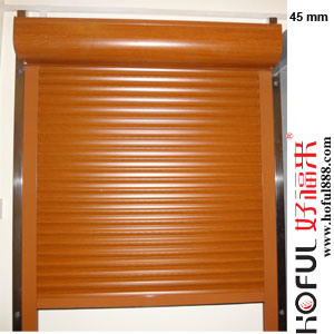 Painted Aluminum Polyurethane Roller Shutter pictures & photos