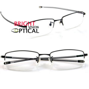 Titanium Eyeglass Frames China : China Man?s Half Rim Frame Pure Titanium Eyewear Frames ...